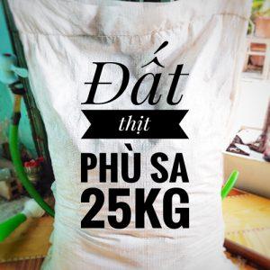 đất thịt trồng cây 25kg